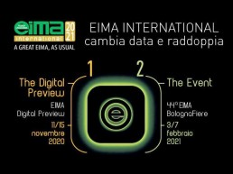 EIMA International cambia data e raddoppia